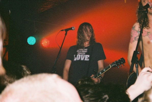 Dan, unknown gig, 2001-03