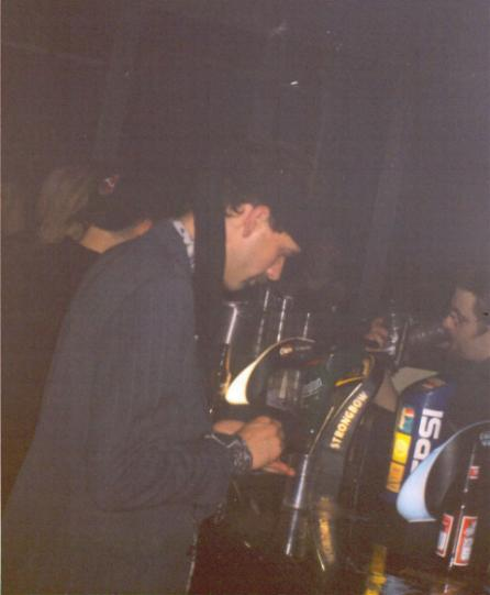 Frankie, unknown gig, 2001-03